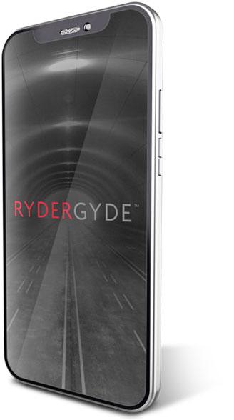 RyderGyde Phone Display